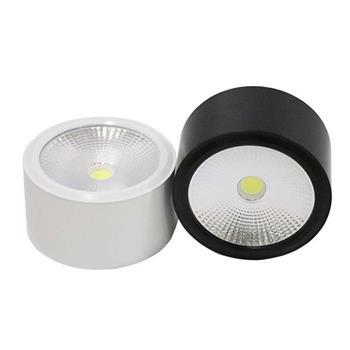 Đèn ốp trần ống bơ đen 12W OB12