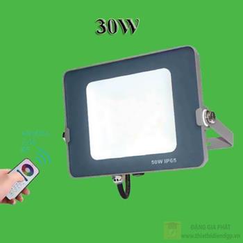 Đèn led pha nhiều màu OPU-FL-30W RGB