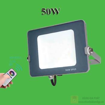 Đèn led pha nhiều màu OPU-FL-50W RGB