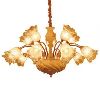 Đèn chùm sứ và thủy tinh cao cấp hình bông hoa 15 tay 1000mm Venus PC9258/10+5 PC9258/10+5