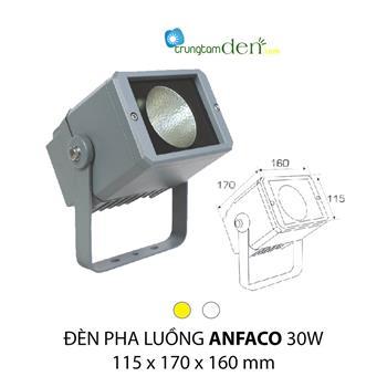 Đèn pha luồng Anfaco 30W PHA 008 30W