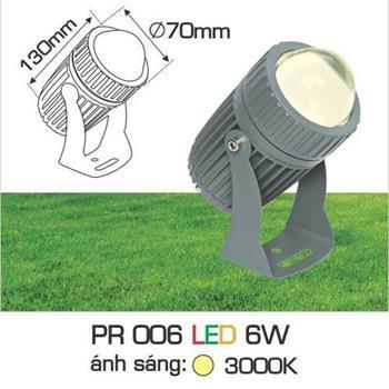 Đèn pha Led cao cấp PR 006 LED 6W PR 006 LED 6W