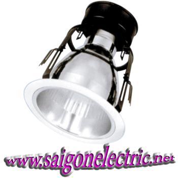 """Bộ đèn lon downlight gắn âm 1 x E27, 3.5"""" PRDN95E27"""