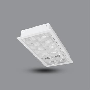 Máng đèn tán quang âm trần 2 bóng 0.6 m 20W PRFF218L20 PRFF218L20