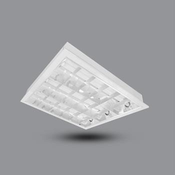 Máng đèn tán quang tâm trần 3 bóng 0.6m 30W PRFF318L30