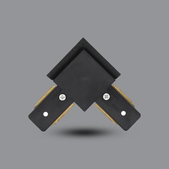 Khớp nối chữ L (đen) PRO03B