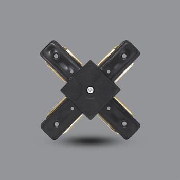 Khớp nối chữ X (đen) PRO05B