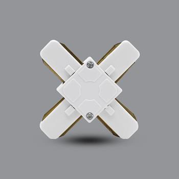 Khớp nối chữ X (trắng) PRO05W