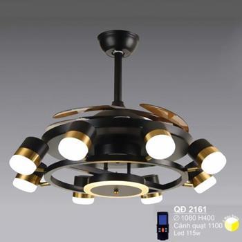 Quạt đèn Sano led 115W - Ø1080*H400mm QĐ 2161