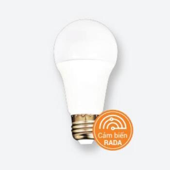 Đèn bulb tròn cảm ứng radar 9W B9-RADAR