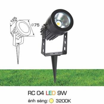 Đèn sân vườn Ghim Cỏ Anfaco 9W RC 04 LED 9W
