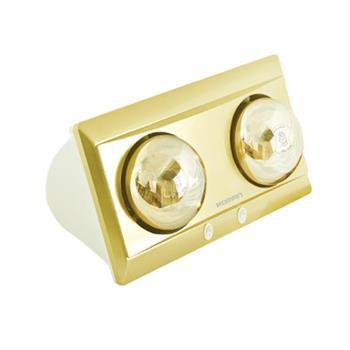 Đèn sưởi phòng tắm Roman 550W - 2 bóng RDS-G201