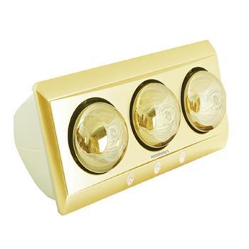 Đèn sưởi phòng tắm Roman 825W - 3 bóng RDS-G301