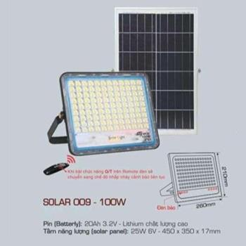 Đèn pha Led Anfaco SOLAR 009 100W SOLAR 009 - 100W