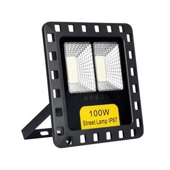 Đèn Pha NLMT 100W - L215*W50*H235, Tấm Pin: 6V-15W (L220*H340) SOLAR-60