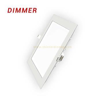 Đèn Led Panel âm trần mỏng vuông điều chỉnh SPL/DIM MPE 18W SPL-18T/DIM