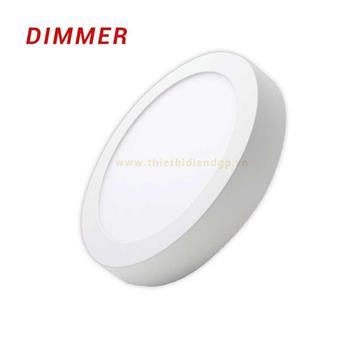 Đèn Led ốp trần MPE tròn nổi sử dụng dimmer SRPL 6W SRPL-6T/DIM