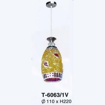 Đèn thả bàn ăn trang trí nội thất T-6063/1V T-6063/1V