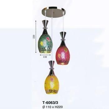 Đèn thả bàn ăn trang trí nội thất đẹp T-6063/3 T-6063/3