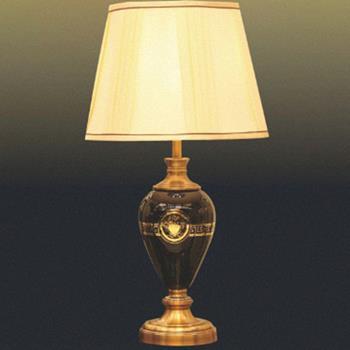 Đèn bàn chụp vải bình thủy tinh VENUS T1710 T1710