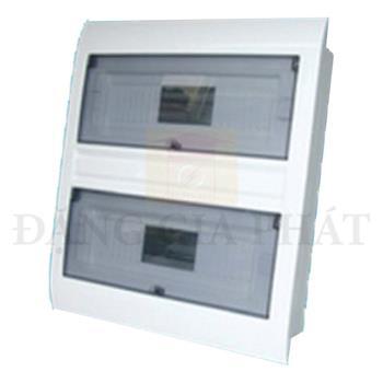 Tủ điện MPE âm tường chứa MCB 21-24 cực T24