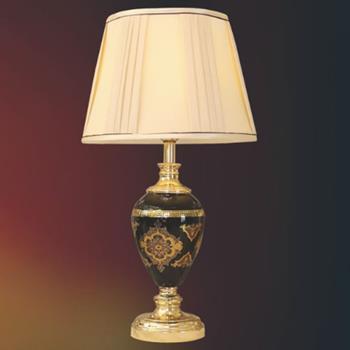 Đèn bàn chụp vải thân thủy tinh VENUS TB1714 TB1714