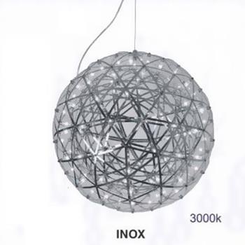Đèn thả quả cầu inox Ø200 3000K TE-231