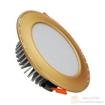 Đèn Led âm trần 7W mặt cong - Mặt Vàng TLC-AMC-VV-07W