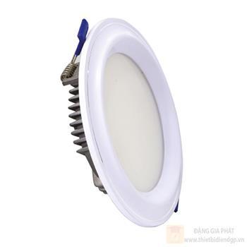 Đèn led âm trần mặt cong plast 9W TLC-AMP-VT-9W