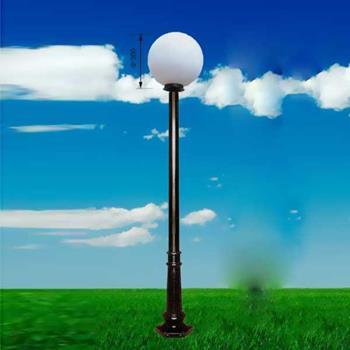 Đèn trụ sân vườn hình cầu 006 TRỤ 006
