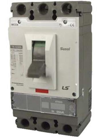 thiết bị đóng cắt chống rò điện mccb 3p 630a 65Ka ATU:Adjustable thermal, Adjustable m.trip units TS630N ATU630 3P