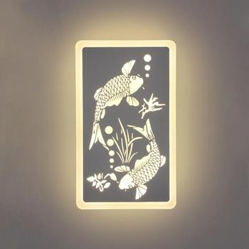 Đèn tường LED tranh cá chép Venus V8122 V8122