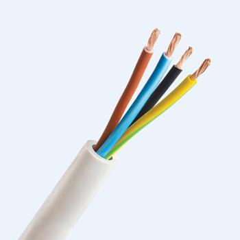 VCmt 300V/500V, cáp mềm tròn loại 4 ruột, THALOCO Cable VCmt4 lõi