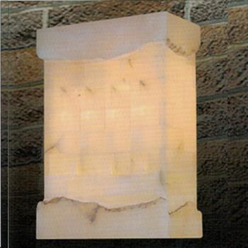 Đèn tường đá L215 x W110 x H300 VD-614