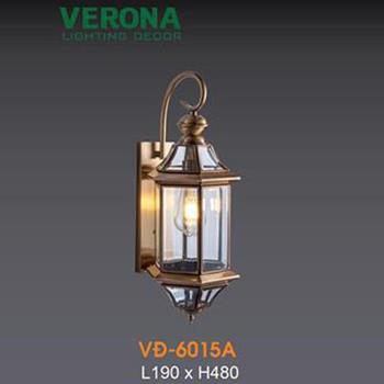 Đèn vách đồng Verona L190xH480 VĐ-6015A
