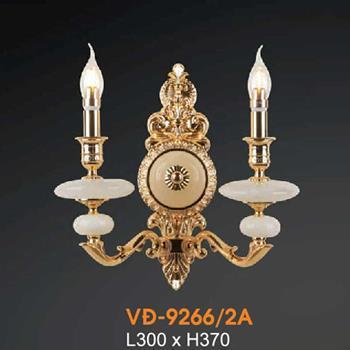 Đèn vách đồng Verona L300xH370 VĐ-9266/2A