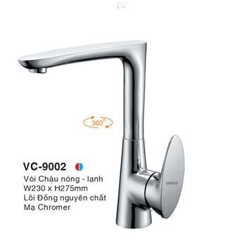 Vòi Chậu Nóng Lạnh Euroto VC-9002 VC-9002