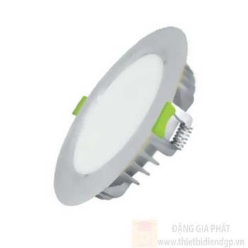 Đèn Led Âm Trần (EC-DLSS Series) mặt màu bạc 9W EC-DL-9SS-T118-x-B