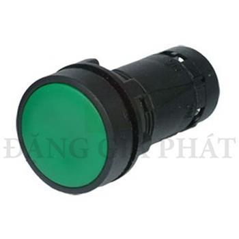Nút nhấn nhả Ø22, N/O + N/C, màu green XB7NA35