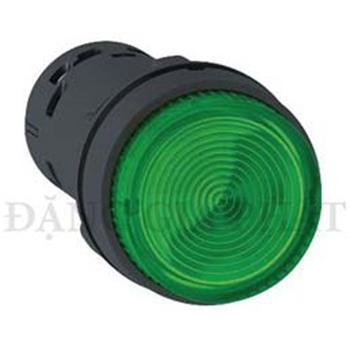 Nút nhấn có đèn Led 24VDC, N/O Ø22, màu xanh,đỏ,vàng,N/C Ø22 đỏ loại XB7 XB7NW33B1