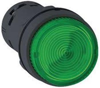 Nút nhấn có đèn Led 230VAC, N/O, Ø22 (Spring Return) XB7NW33M1