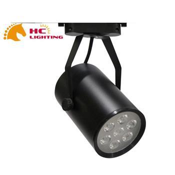 Đèn rọi ray mắt trâu vỏ đen SMD 12W RR12Đ/T-03