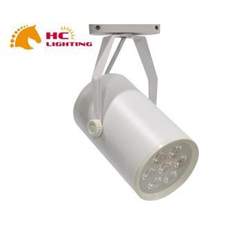 Đèn rọi ray mắt trâu vỏ trắng SMD 12W RR12Đ/T-03