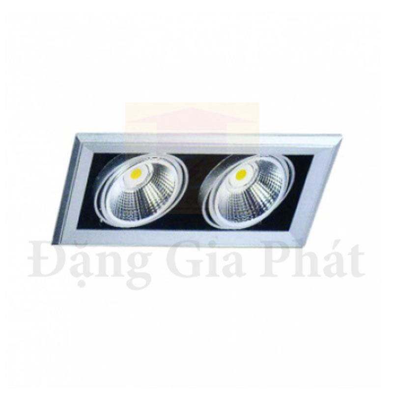 Đ 232 N Led Downlight 226 M Trần 2x15w Paragon Olt215l30