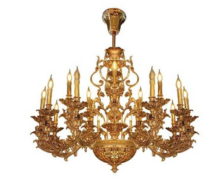 Các loại đèn chùm đồng trang trí【Phân loại】 | thietbidiendgp.vn